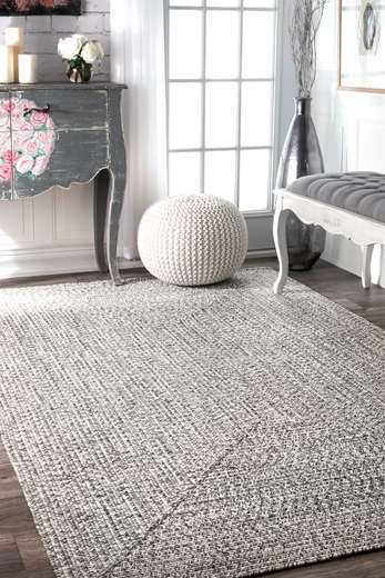 I Also Love This Grey And White Striped Rug From RugsUSA. I Am A Sucker For  Stripes And This One Reminds Me Of The Cabana Style Rug I Have Under My  Dining ...