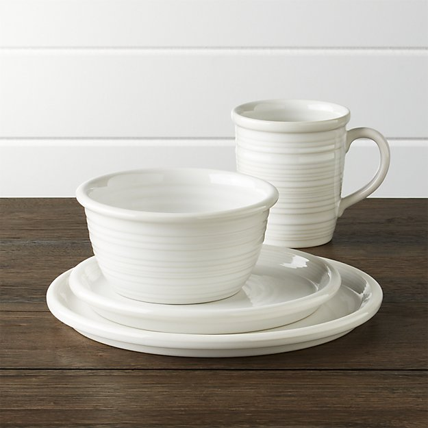 Favorite Coastal Farmhouse Style Dinnerware from Crate & Barrel