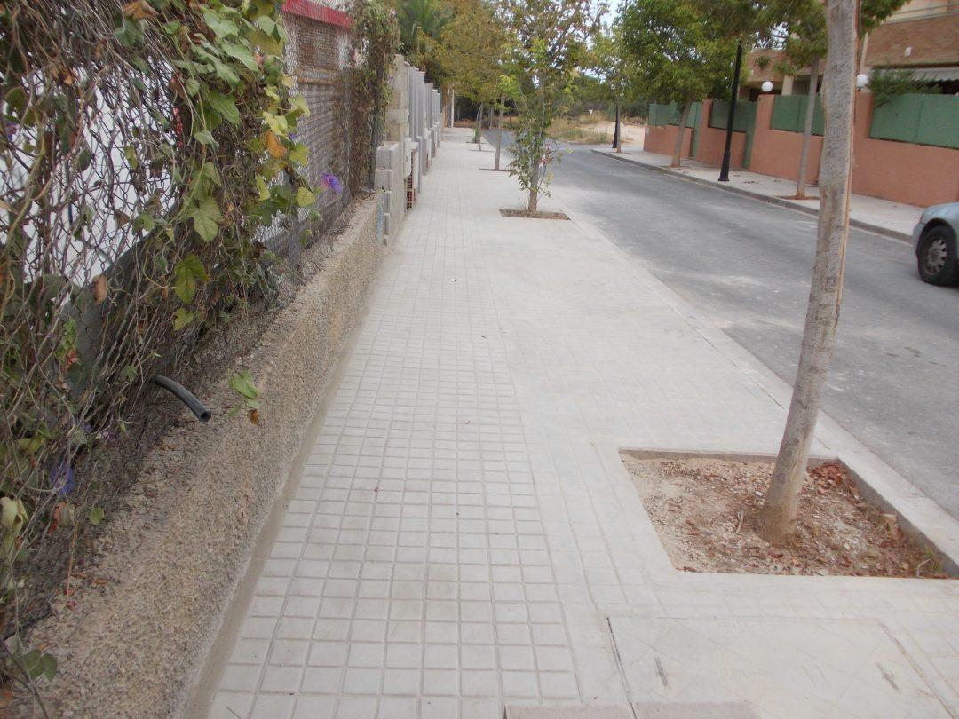 Calle Chiva terminada