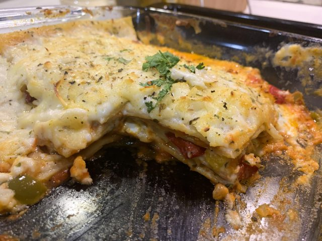 ROASTED VEG LASAGNA