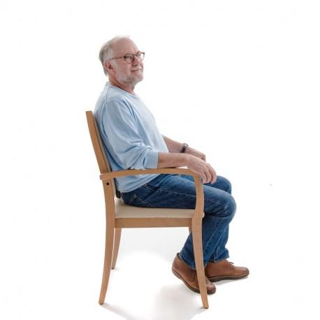 chaise liza dossier haut