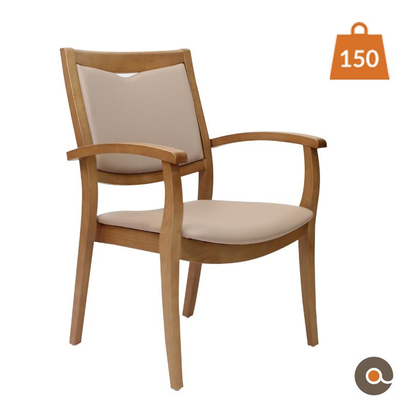 chaise solide et confortable pour