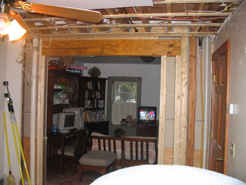 How To Build A Non Load Bearing Interior Wall With Door