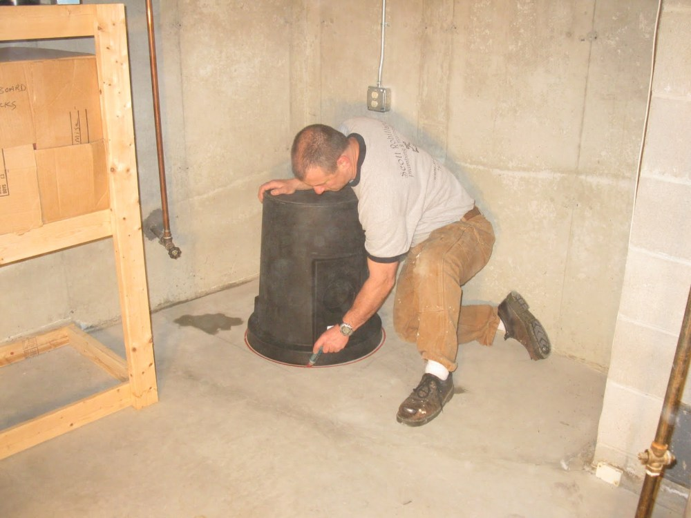 medium resolution of how to install a sump pump