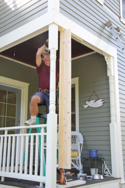 Repair A Rotted Porch Column Page 2 Of 5 A Concord