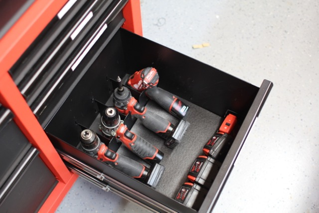 Milwaukee 46Inch Steel Tool Storage Chest and Cabinet  A