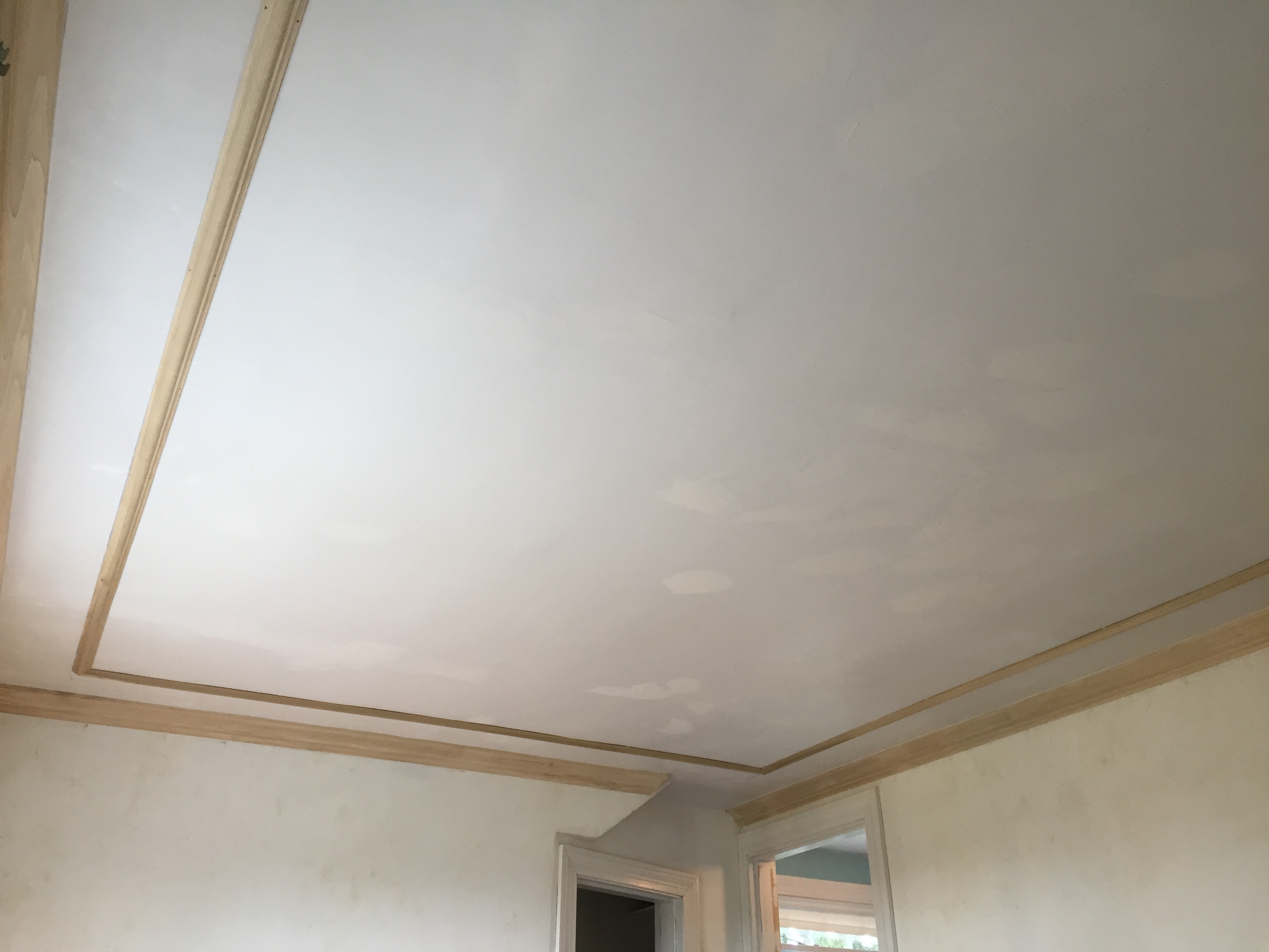 How to Apply Astragal Molding On a Ceiling  A Concord