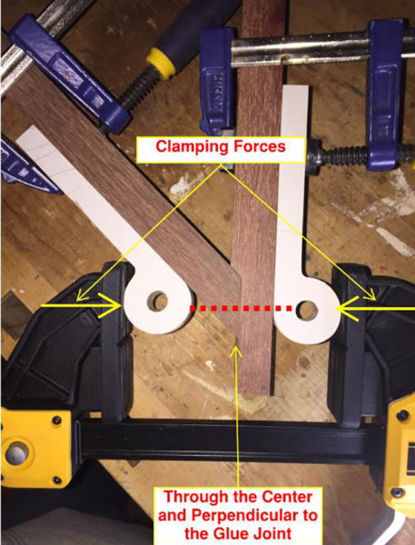 225 Degree Angle Clamp