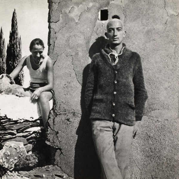 Surrealist Style Of Salvador Dali. Continuous Lean