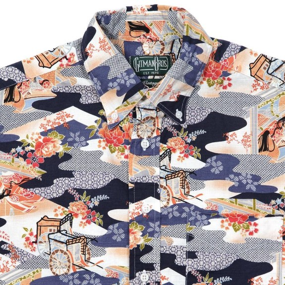 Kimono camo (SS2013) with the same print on some Mark McNairy shoes.