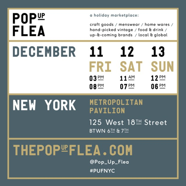 Pop Up Flea 2015