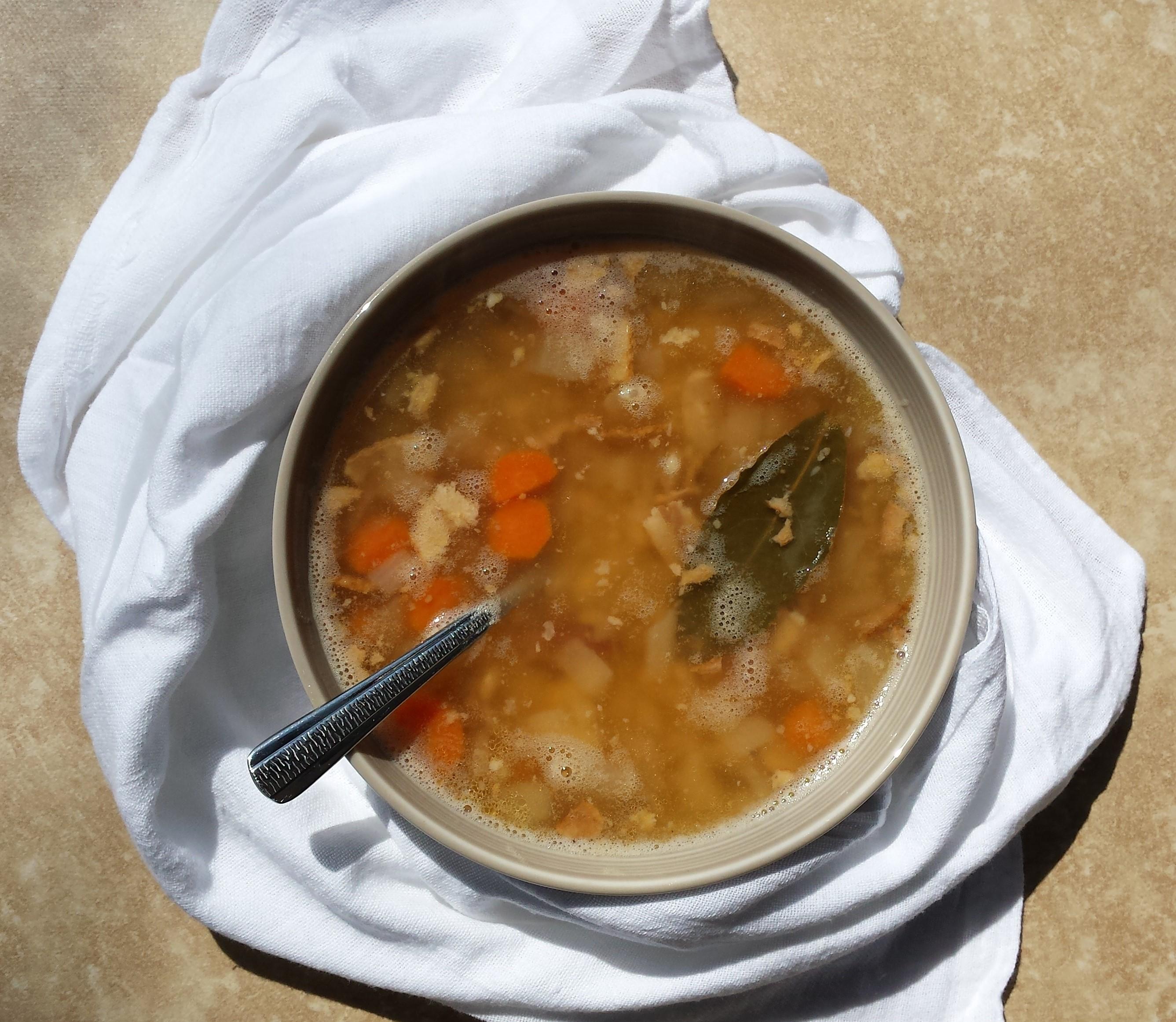 White Bean and Bacon Soup 1