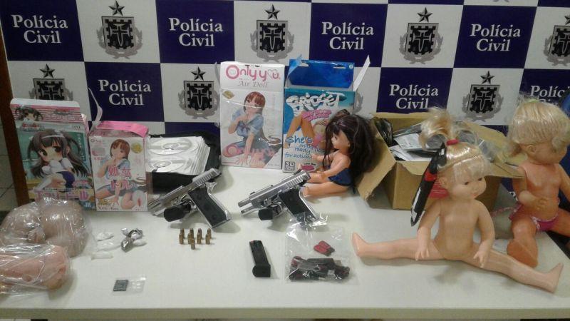 Morador de Feira de Santana é preso em operação contra pedofilia na internet