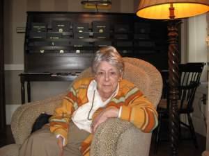 Nan Frederick in 2009.