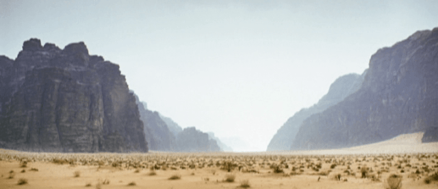 "An alternate view of Wadi Rum from the 2014 movie ""Theeb"" (Fertile Crescent Films)"