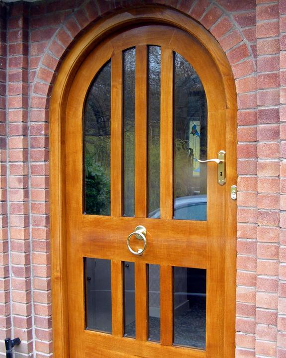 Bespoke Oak  Wooden Doors and Gates Handmade in the UK