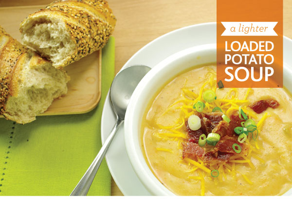 A Lighter Loaded Potato Soup