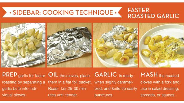 Faster Roasted Garlic