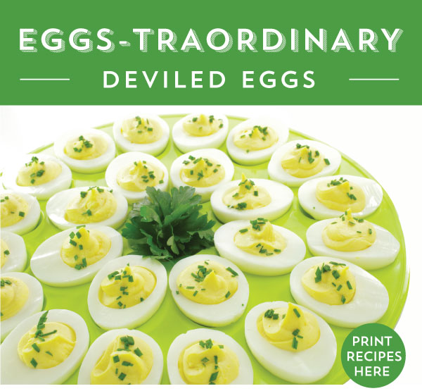 Deviled Eggs 5 Ways