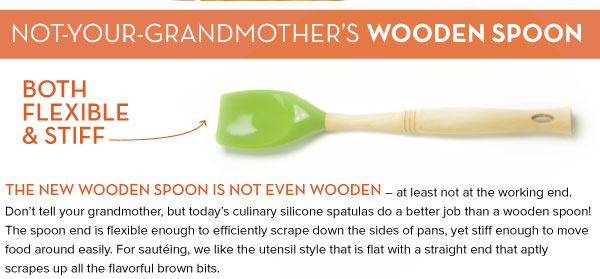 Not your Grandmother's Wooden Spoon