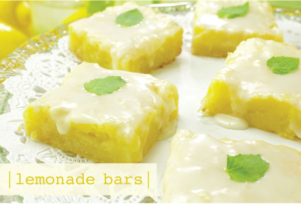 Lemonade Bars