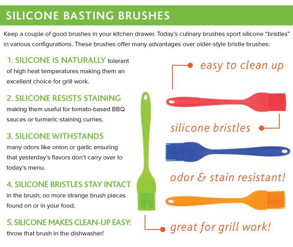 Silicone Basting Brushes