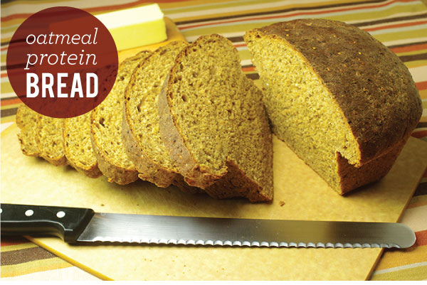 RECIPE: Oatmeal Protein Bread