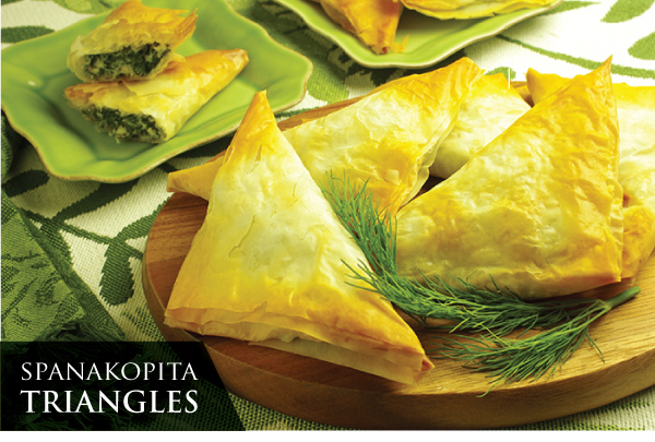 RECIPE: Spanakopita Triangles