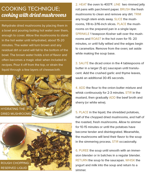 Cooking Technique: Cooking with Dried Mushrooms