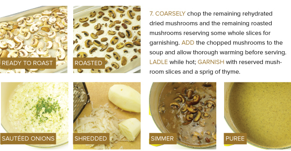 Cooking with Dried Mushrooms