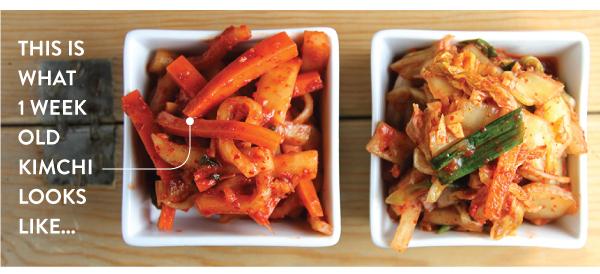 1 Week Old Kimchi