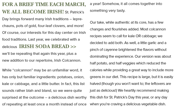 We are all a bit Irish