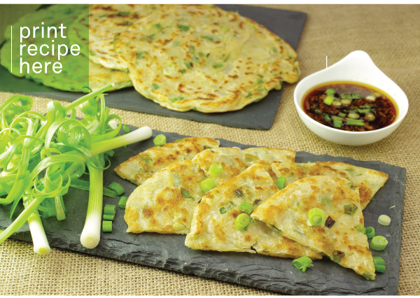 PRINT RECIPE HERE: Scallion Pancakes