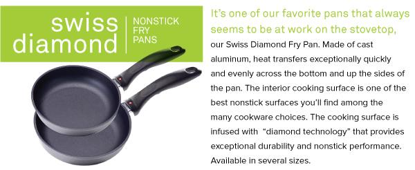 Swiss Diamond Nonstick Fry Pans