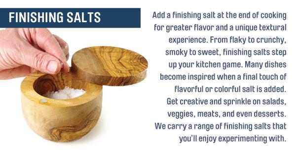 Using Finishing Salt