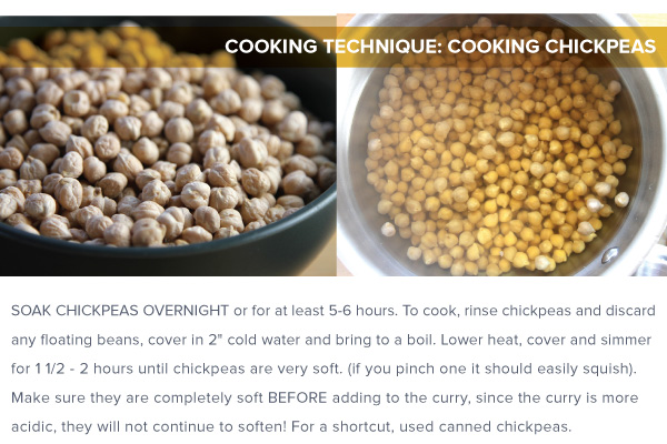 Cooking Technique: Cooking Chickpeas