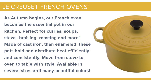 Le Creuset French Oven
