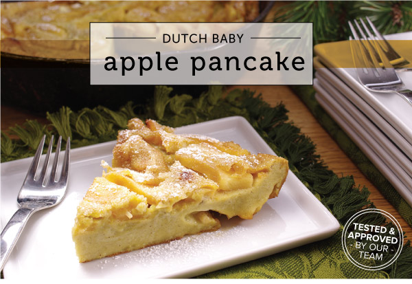 DUTCH BABY APPLE PANCAKES | The Extra, Extra Ingredient