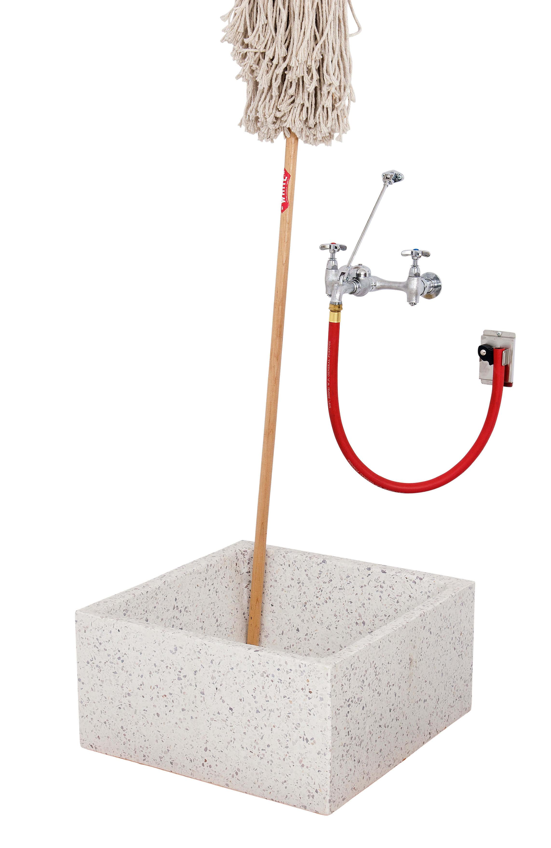 24 x 24 x 12 Height Standard Height Terrazzo Mop Sink