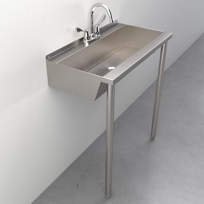 eco trough sinks multi user hand