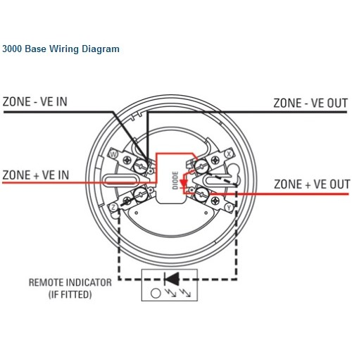 Fire Detector Wiring Diagram Transformer Diagrams Wiring
