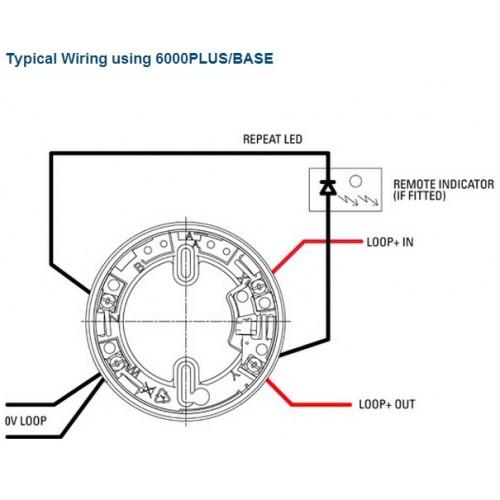 Protec Optical Smoke, Heat and Carbon Monoxide Multi-Sensor