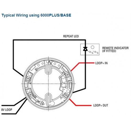 heat detector addressable wiring diagram