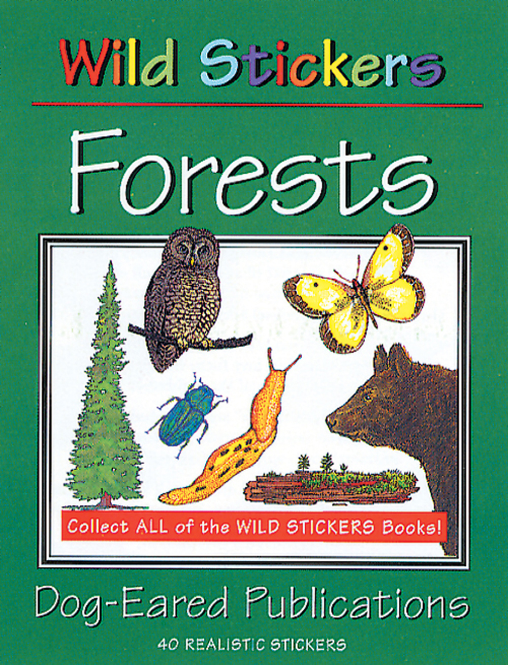The north american trees of today have endured many glacial advances and retreats and countless fires, storms, droughts and floods. North American Forests Wild Stickers Series