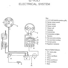 Dynamo To Alternator Conversion Wiring Diagram Switch Loop Useful Bits 12 Volt