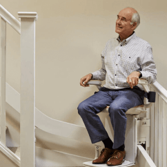 Stair Lift Chair Tan Leather Stairlifts Free Quote Fast Installation Acorn Every Day People Regain Their Independence With An Stairlift