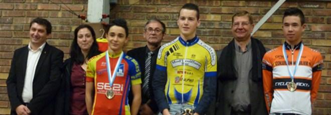 Valentin récompensé pour sa deuxième place aux championnats d'Essonne Cadet