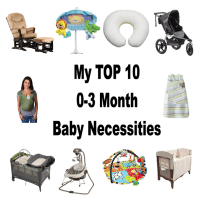 Top Ten Baby Necessities 0-3 Months for new parents