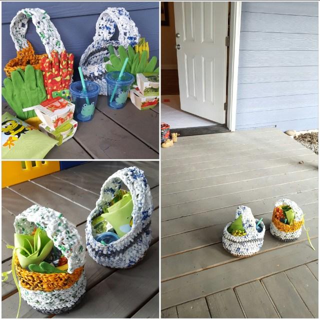 Spring Garden Baskets for Kids