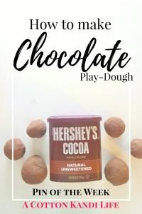 How to make Chocolate Play-Dough. Chocolate Playdough Recipe. Valentines Sensory Play. Easter Basket Gift Idea. DIY Easter. Sensory Play